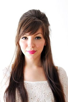 Work hairstyle for long hair
