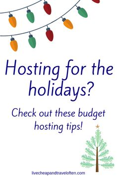 Budget Party Tips – Live Cheap & Travel Often Saving Ideas, Money Saving Tips, Christmas On A Budget, Christmas Ideas, Budget Meal Planning, Budgeting Worksheets, Living On A Budget, Budget Wedding, Holiday Parties