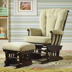 Lainey Chair And Ottoman Co Pak By Best Chairs Gliders Nursery