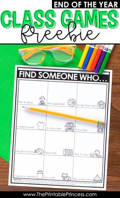 Check out these fun and FREE end of the year games to play as the school year comes to an end. These games are perfect end of the year activities for Kindergarten and first grade students. There's two end of the year games included in the download. Use them as indoor recess activities or just for fun. They are the perfect way to spend the last few days reflecting and remembering highlights from the school year. Your students will love them! And they're easy to prep, which means you'll love them