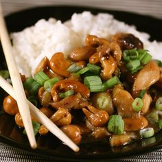 Cashew Chicken — a recipe just as good as delivery that you can make at home.