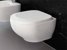Sega bagno ~ Wc sospeso in ceramica faster rimless by hidra ceramica senza