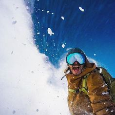 So happy to be riding powder again. Can you tell? . #fuzzydunlop #chile Snowboarding Photography, Ski, Chile, Powder, Photo And Video, Happy, Instagram, Face Powder, Ser Feliz