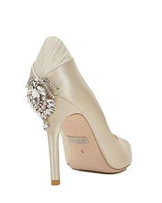 Cali Embellished Heel Evening Shoe