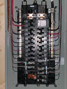 200 Amp Main Panel Wiring Diagram, Electrical Panel Box Diagram ...