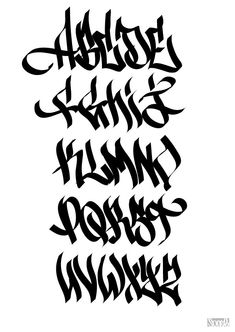 Lettering Fonts Discover typographie Page 8 SONGE Cool font idea--remember your site should always reflect your brand and character values! Graffiti Alphabet Styles, Graffiti Lettering Alphabet, Tattoo Fonts Alphabet, Chicano Lettering, Graffiti Writing, Graffiti Font, Graffiti Characters, Graffiti Styles, Typography Letters