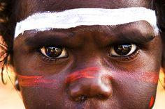 Australia | Portrait taken at the Garma Indigenous People Festival in 2007. Arhemland, Northern Territory | © Cameron Herweynen.