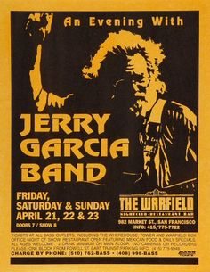 Last JGB shows. Jim was there.