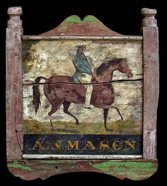 Colonial signs on Pinterest | Signs, Folk Art and Hand Painted Signs