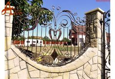 Iedera Salbatica Lux - Porti si Garduri din Fier Forjat ARCO TRUST Trust, Sidewalk, Sidewalks, Pavement, Walkways