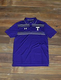 You know you like this TSU Under Armour Polo. What better way to rep your Tarleton State Texans? Keep it classy Stephenville!