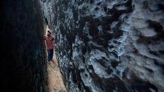 Madagascar, Tsingy, karst formations, karst