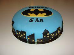 Batman tårta