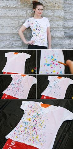 1b98fcca 43 Best Tshirt painting ideas images | Painted clothes, Fabric ...