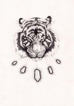 Crystal Tigre, Peter Carrington, http://www.petercarrington.co.uk/