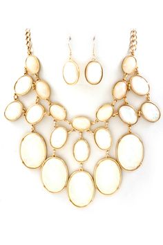 Vitrail Ivory Etta Necklace