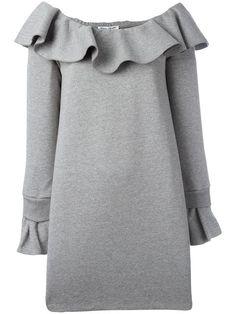 OPENING CEREMONY ruffled neckline dress. #openingceremony #cloth #드레스