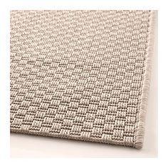 MORUM Vloerkleed, glad geweven - 80x200 cm, binnen/buiten beige - IKEA