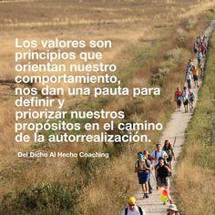 Los valores son principios que orientan nuestro comportamiento!  #Coaching #DesarrolloHumano #InteligenciaEmocional #Bienestar
