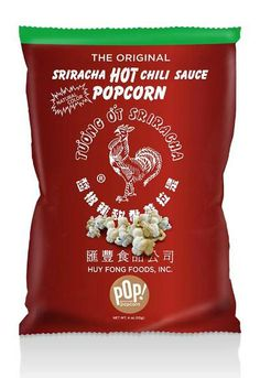 "The Most Innovative New Products Awards Sweets and Snacks Expo 2014 ""Savory Snack"" category winner is Sriracha Hot Chilli Sauce Popcorn, POP! Gourmet Popcorn."