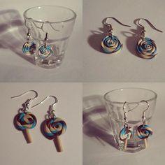 Lollipop   #earrings #earings #jewellery #jewelry #handmade #handmadejewelry #handmadejewellery #craft #claycr #claycraft #polymerclay #polymer #clay #lollipop