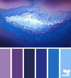 mineral glow more from Design Seeds mineral palette selection Colour Schemes, Color Combos, Color Patterns, Colour Palettes, Color Palette For Home, World Of Color, Blue Design, Design Seeds Blue, Color Swatches