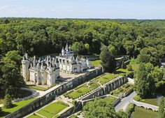 View top-quality stock photos of France Indre Et Loire Loire Valley Rigny Usse Castle Of Usse Which Has Inspired The French Author Charles Perrault For Sleeping Beauty. Find premium, high-resolution stock photography at Getty Images. Architectural Digest, Paris Travel, France Travel, Places Around The World, Around The Worlds, Castles To Visit, Loire Valley, French Castles, French Architecture