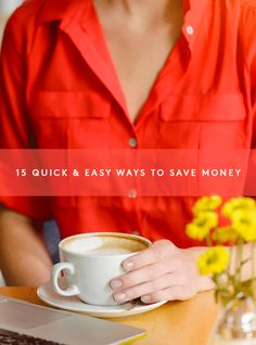 15 smart and simple ways to save money Show Me The Money, Big Money, Money Talks, Life Organization, Ways To Save Money, Note To Self, Adulting, Simple Way, Saving Money