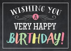 Wishing You A Very Happy Birthday happy birthday happy birthday wishes happy birthday quotes happy birthday images happy birthday pictures Happy Birthday Pictures, Happy Birthday Messages, Happy Birthday Quotes, Happy Birthday Greetings, Birthday Greeting Cards, Birthday Clips, Birthday Love, Happy Birthday Cousin, Birthday Surprises For Her