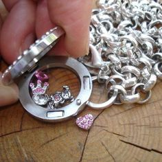 Here is a great picture to show you how the lockets open so you can add to them or change out your charms anytime you like.