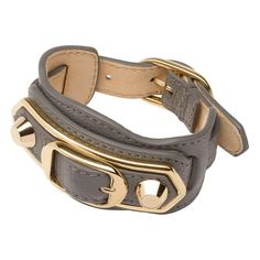 Balenciaga Classic Metallic Edge Bracelet ($295) ❤ liked on Polyvore featuring jewelry, bracelets, polish jewelry, balenciaga, metallic jewelry and balenciaga jewelry