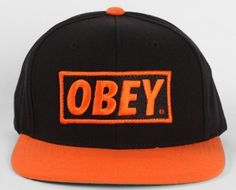 27 Best OBEY snapback hats images  6f5da0a4332e