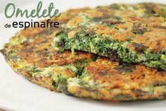 Omelete de espinafre | Blog da Mimis