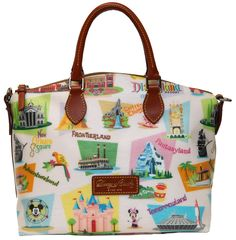 The New Dooney & Bourke Retro Collection on Sale May 12 at Disney Vault 28 in the Downtown Disney District at the Disneyland Resort