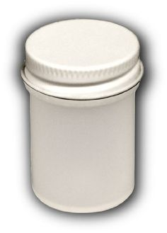 Plastic Jar With Convenient Screw-top Lid Holds Liquids Or Small Parts, 2 oz. Size (Lot/5)