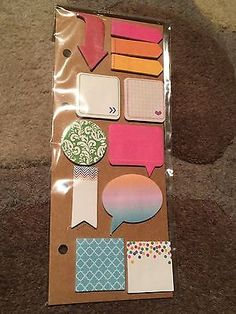 Recollections Sticky Notes & Page Flags for Planners Filofax, Kikki K, Daytimer