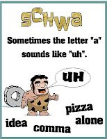 This caveman unit is SO cute for learning the schwa sound!