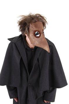 Mascara De Dr. Plague Nariz Larga. Adulto Disfraz Halloween - $ 490.00 en MercadoLibre