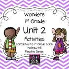 By popular request the Glyph Girls have created this 99 page product to supplement the McGraw-Hill Wonders Reading Series, Unit 2. Activities targe...
