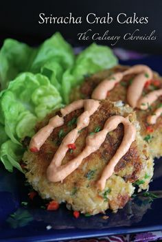 Sriracha Crab Cakes by The Culinary Chronicles, via Flickr