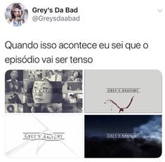 Anatomy Grey, Greys Anatomy Memes, Grey's Anatomy Hospital, D Gray, Vampire Diaries, Funny Memes, Books, Movies, Internet