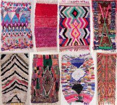 boucherouite rugs!~ ECKMANN STUDIO LOVE