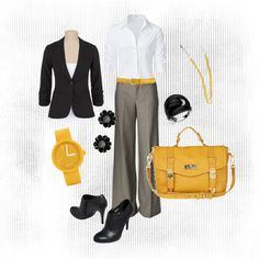 Work - Black and Yellow