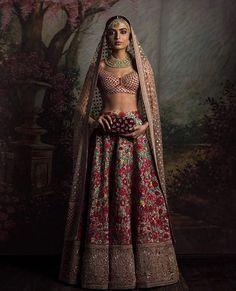 Photo By Sabyasachi Mukherjee - Bridal Wear Indian Bridal Lehenga, Indian Bridal Wear, Indian Wedding Outfits, Indian Wear, Indian Outfits, Eid Outfits, Indian Weddings, Lehenga Designs, India Fashion