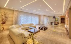 40 Living Rooms Ceiling Design Ideas That Very Recommended This Year – hd-ecor. Gypsum Ceiling Design, House Ceiling Design, Ceiling Design Living Room, Bedroom False Ceiling Design, Ceiling Light Design, Home Ceiling, Living Room Designs, Ceiling Ideas, Modern Ceiling Design