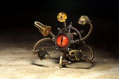 Steampunk Beholder Robot by *CatherinetteRings on deviantART