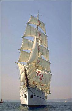 #Portuguese tall ship Sagres.