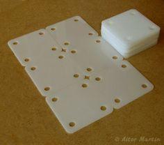 4x4v2  24 pcs Tablet Weaving Cards  Medieval by txorimalo on Etsy, €20.00