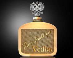 Russo-Baltique Vodka A bottle manufactured by the Russian manufacturer of luxury car Russo-Balt. A bottle of gold, diamonds and gold and white gold cap. Price: € 953,000.