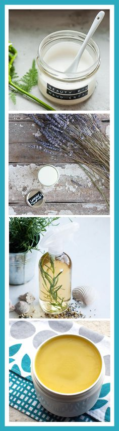 Natural Beauty DIY's - Homemade Summer Bath and Body Recipes to help you look and feel great both in and out the sun all summer long!